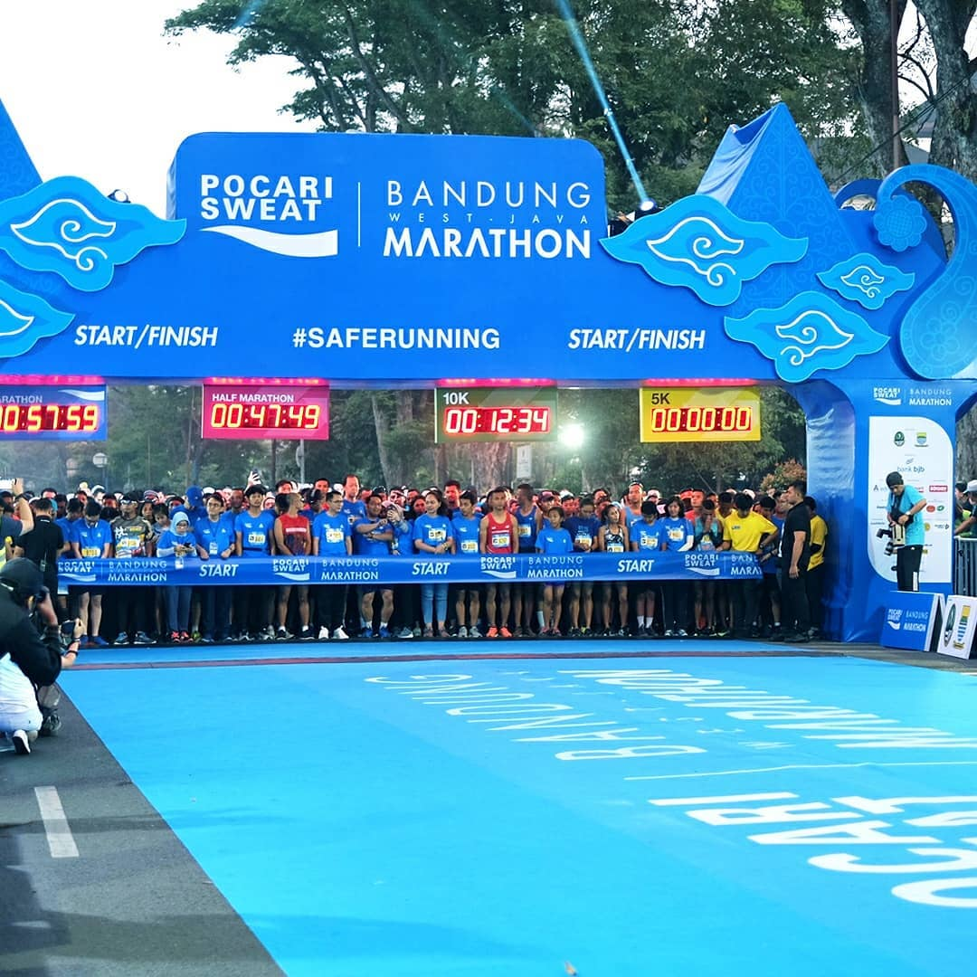 [RACE REVIEW] : POCARI SWEAT BANDUNG MARATHON 2018